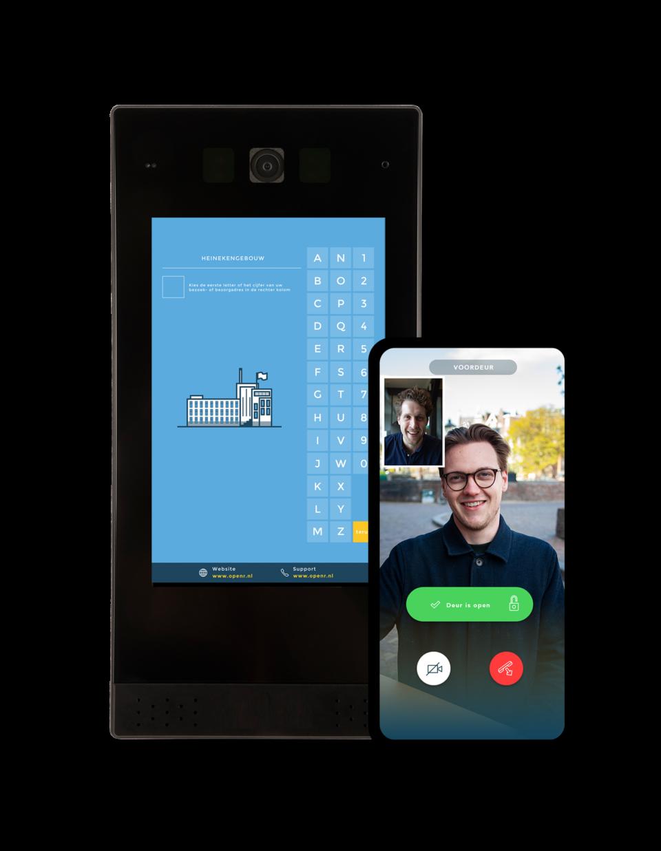 Draadloze Intercom Openr & Openr App Met Video Functie