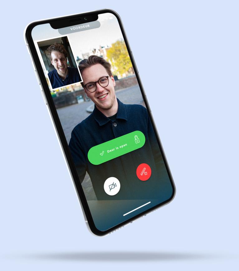 Openr App Met Videobel Functie Voor Persoonlijke Welkom